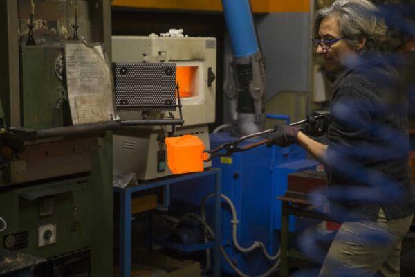 il forno per il trattamento termico degli acciai