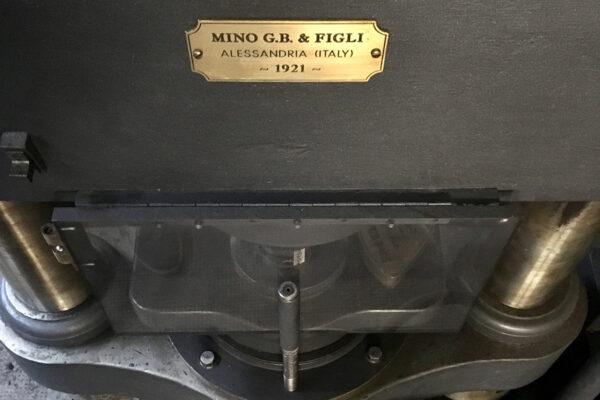 la pressa Mino del 1921